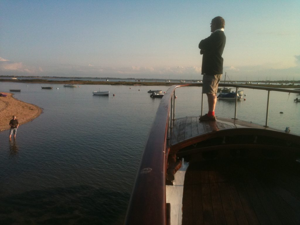 View from the foredeck