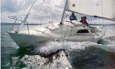 Practical boat owner action shot