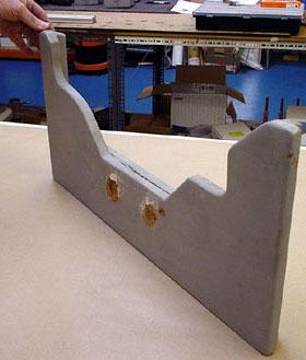 outboard bracket photo
